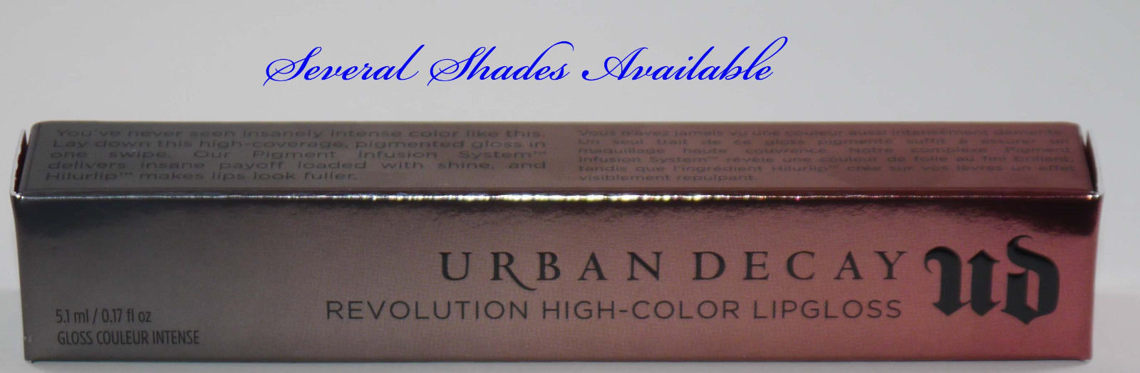 Urban Decay Revolution High-Color Lip Gloss 0.17 oz (Several Shades) 14682