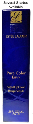 Estee Lauder Pure Color Envy Vinyl LipColor Lip Gloss .24 oz -Several Shades
