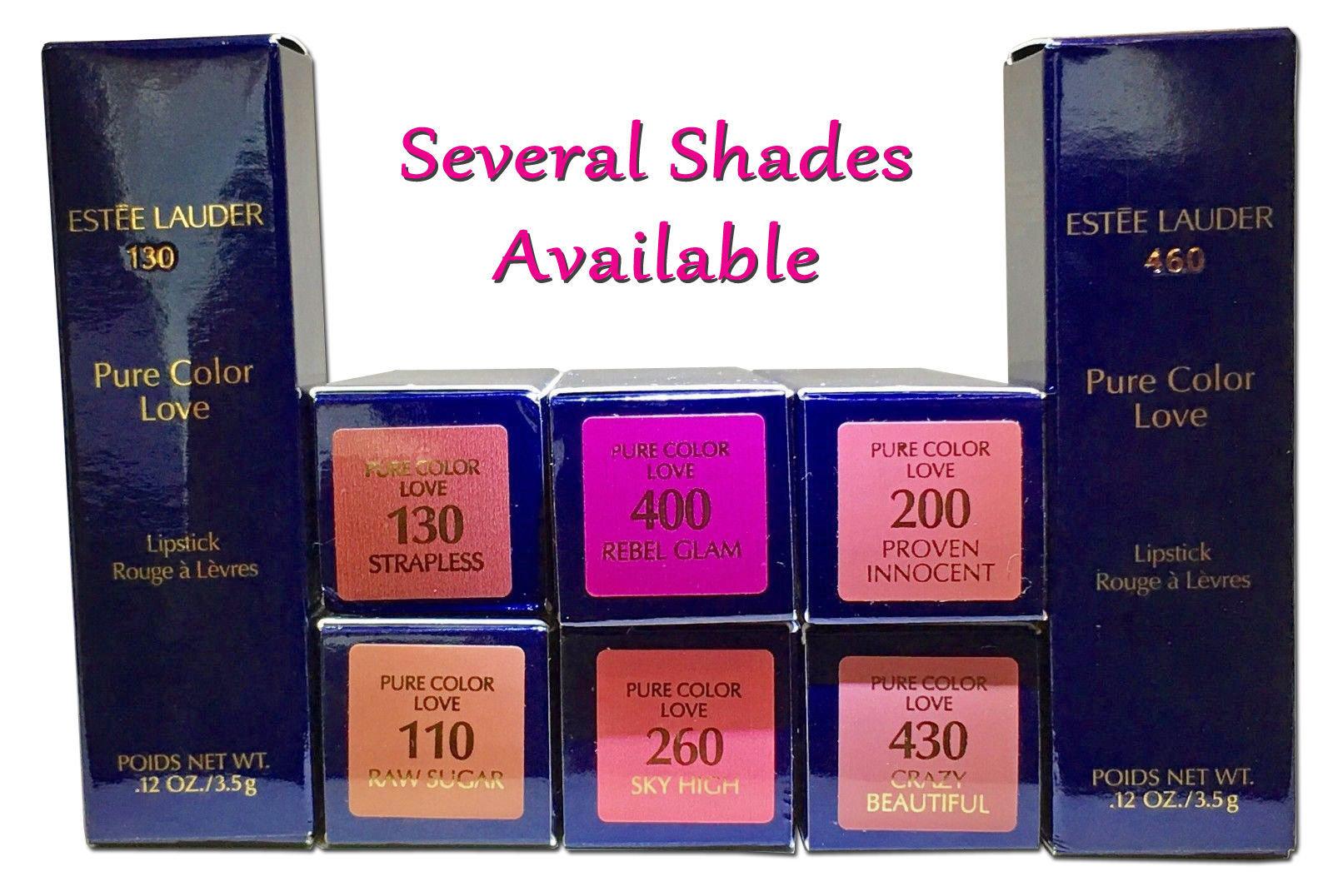 Estee Lauder Pure Color Love Lipstick .12 oz - several shades 14711