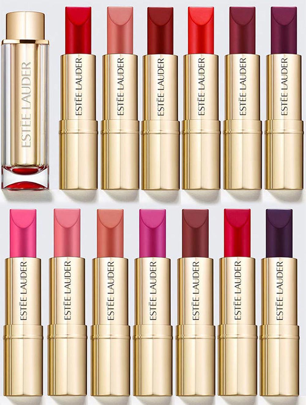 Estee Lauder Pure Color Love Lipstick .12 oz - several shades