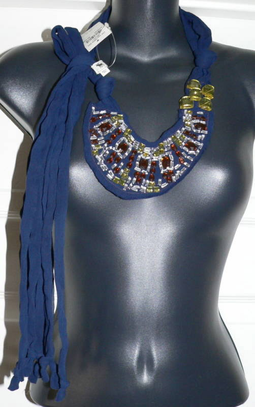 Abercrombe & Fitch Vintage Blue Scarf