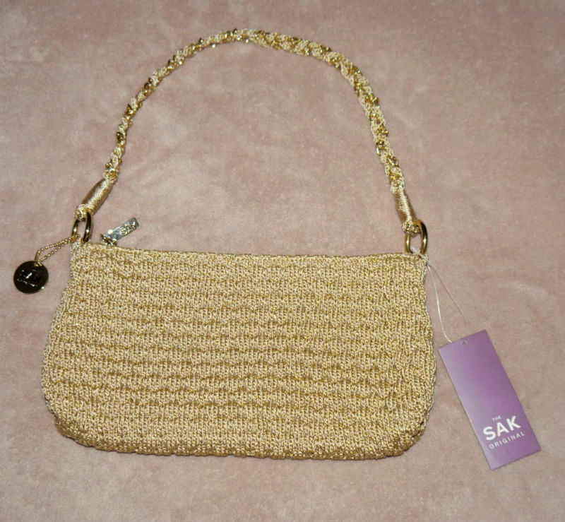 The SAK CHRISTY Gold Purse