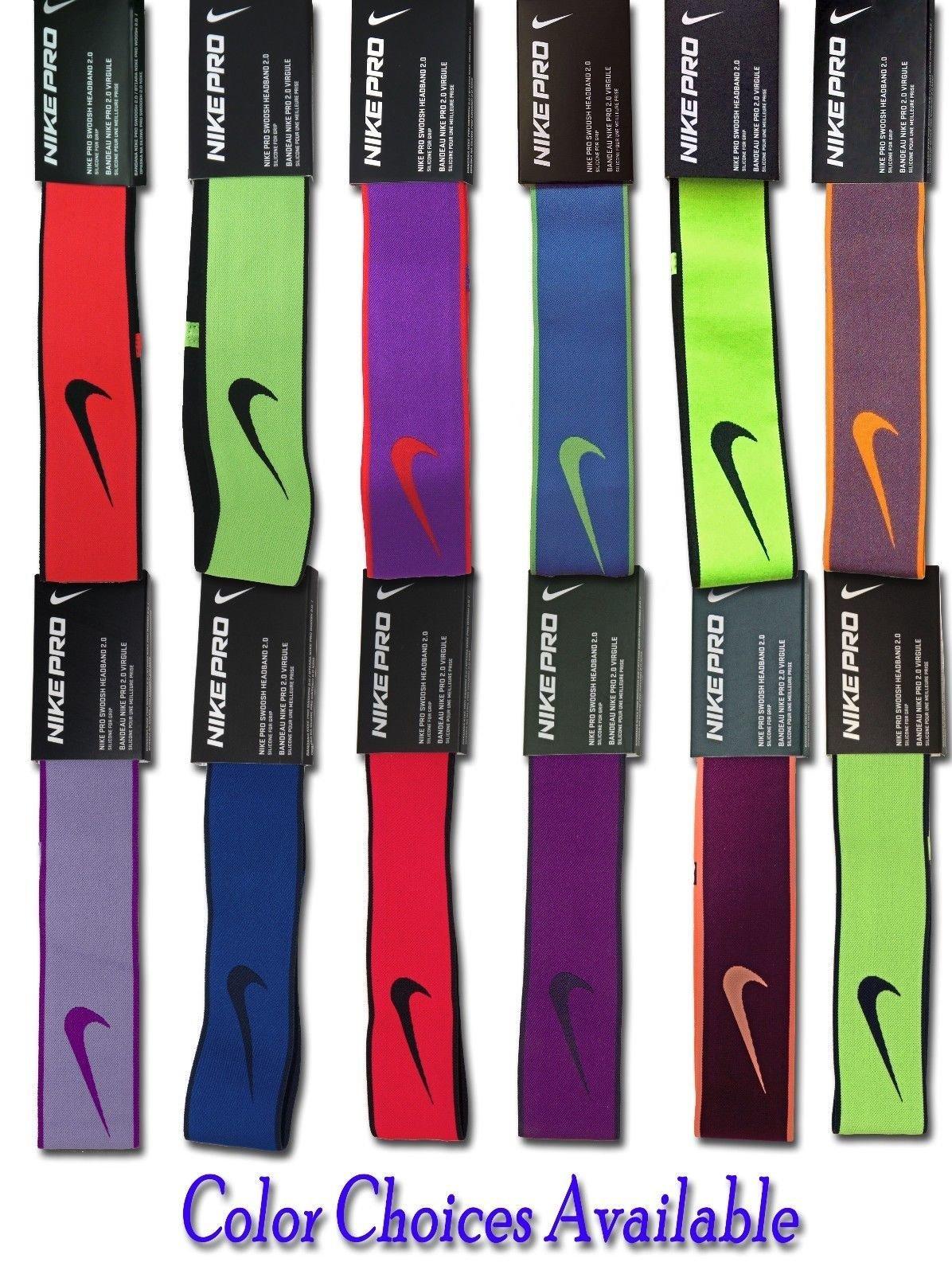 Nike Pro Swoosh 2.0 Headband -Several Choices 14762