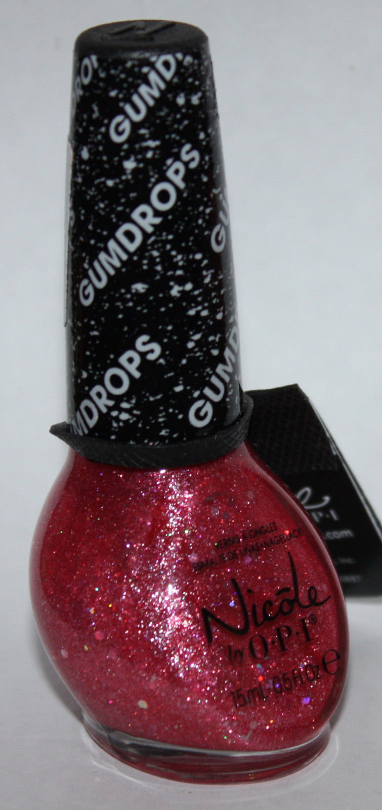 CANDY IS DANDY -Nicole By OPI GUMDROPS Textured Matte Finish Nail Polish .5 oz 14773