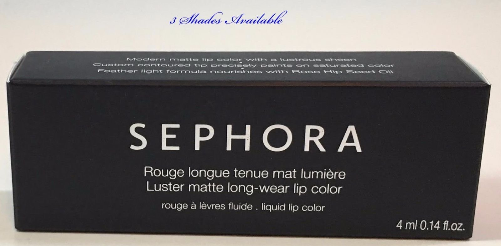 Sephora Collection Luster Matte Long-Wear Lip Color 0.14 oz -Shade Choices 14784
