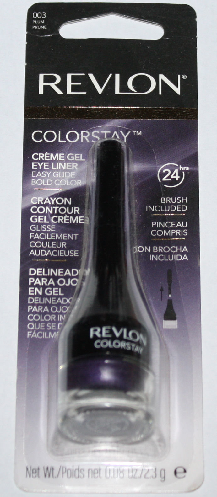 Revlon COLORSTAY Creme Gel Eye Liner #003 PLUM .08 oz 14800