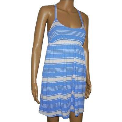 O'Neill Women's Junior Summer Above Knee Summer Dress -Blue (Medium)