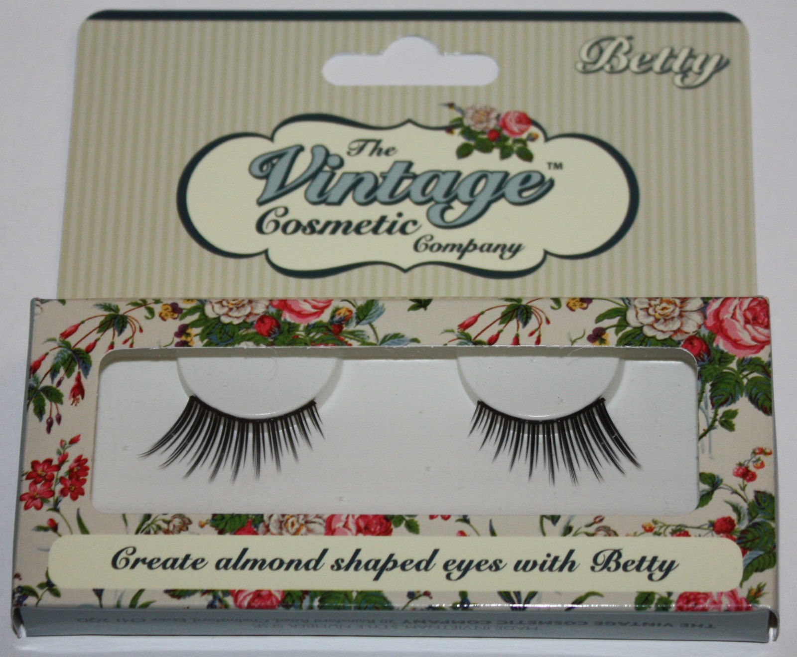 The Vintage Cosmetic Company BETTY Re-Usable False Eye Lashes 14820