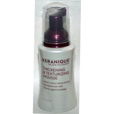 Keranique Thickening & Texturizing Mousse 3.4 oz