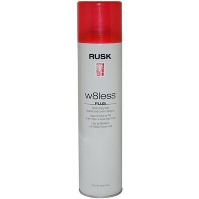 RUSK W8less Plus Extra Strong Hold Shaping & Control Hairspray For Hair 10 oz