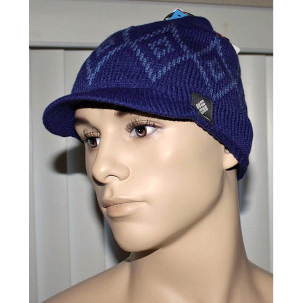 Columbia Unisex DIAMOND HEAT Beanie Visor Hat -Purples