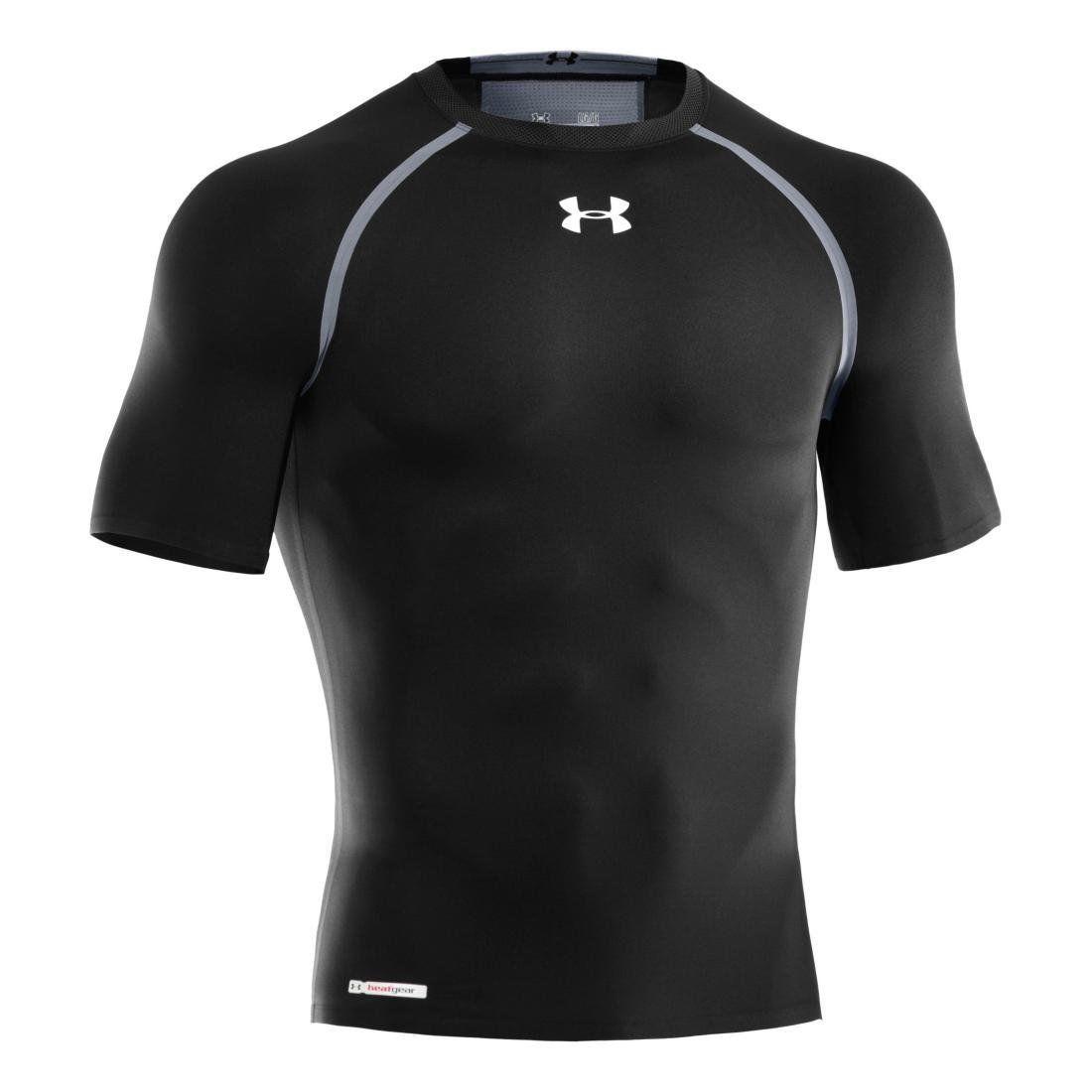 Under Armour DYNASTY Men's Black/Gray/White UA Compression Shirt -X-Large 10812