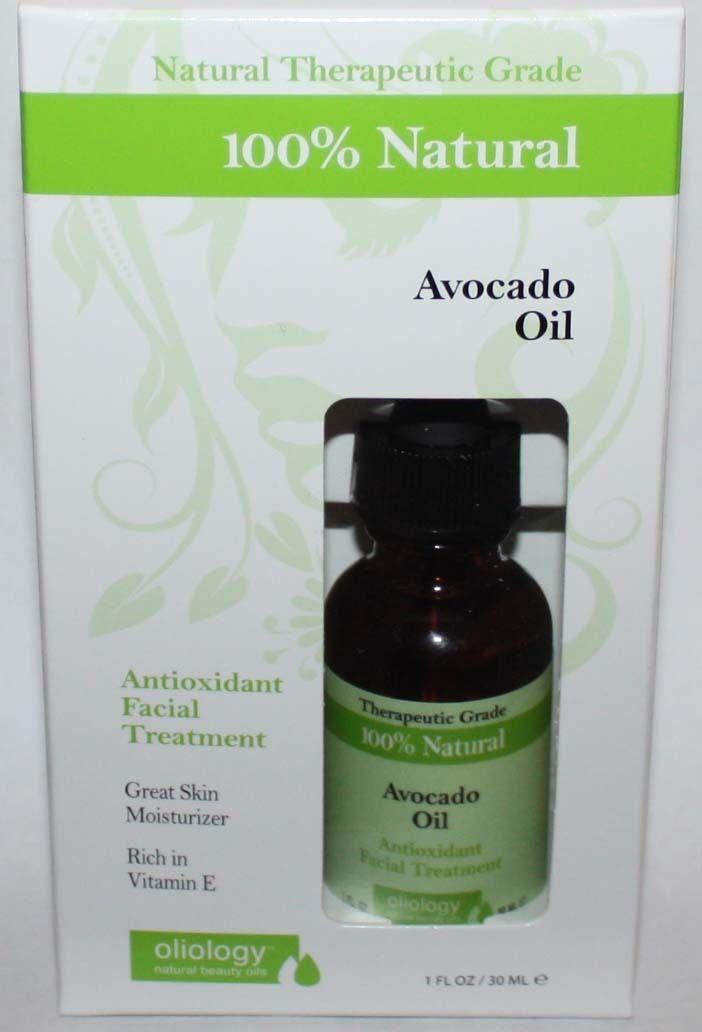 Oliology 100% Natural Avocado Oil Antioxidant Facial Treatment 1 oz 10514