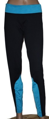 Under Armour Coldgear Women's Black/Pirate Blue Fitted Pants (X-Large)