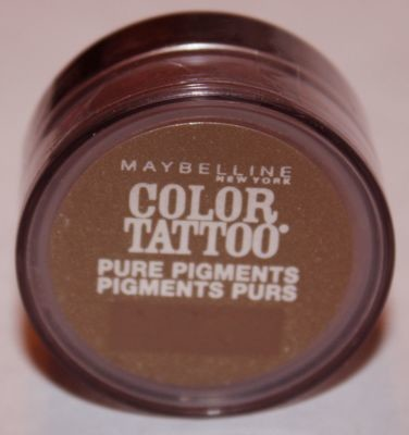 Maybelline Color Tattoo Pure Pigments Eyeshadow -#45 Downtown Brown