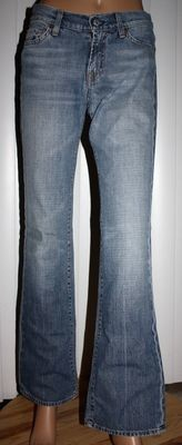 7 For All Mankind Women's Boot Cut Denim Jeans (26 Regular) -Pre-owned