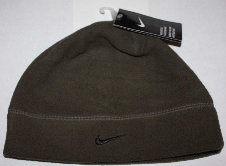 Nike Arctic Adult Unisex Fleece Beanie Hat -green  (One Size)