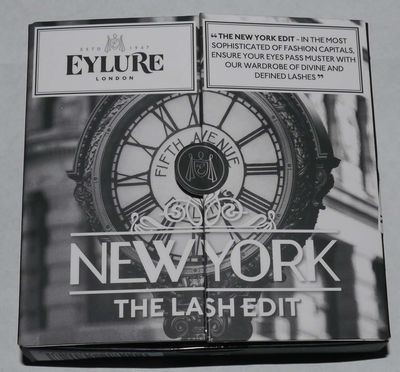 Eylure London Set of 3 The Lash Edit - New York Re-Usable False Eye Lashes