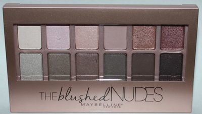 Maybelline New York Expert Wear THE BLUSHED NUDES Eyeshadow Palette 0.34 oz