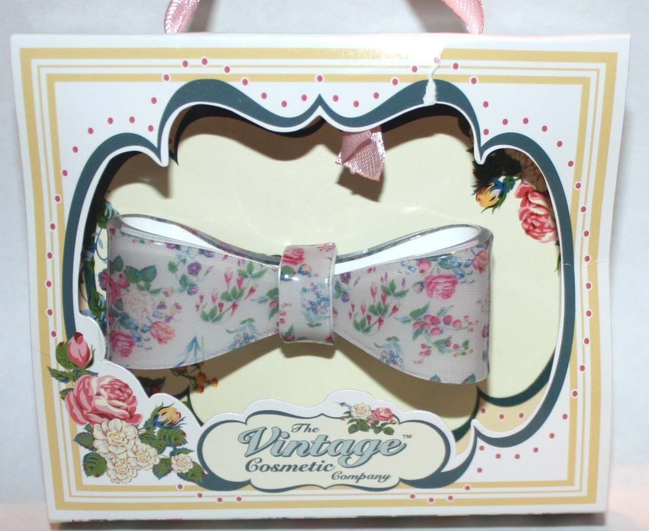 The Vintage Cosmetic Women's Floral Hair Clip