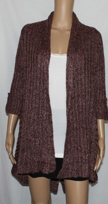 BCBG MaxAzria Women's Knit Muli-Length Cardigan Sweater  (Medium) *Reduced*