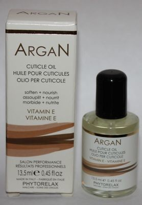 Phytorelax ARGAN Cuticle Oil With Vitamin E 0.45 oz