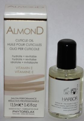 Phytorelax ALMOND Cuticle Oil With Vitamin E 0.45 oz