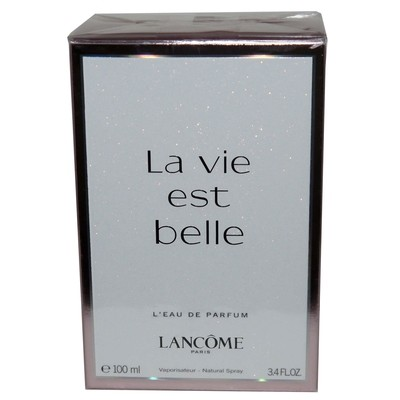Lancome Paris La vie est belle L'eau de Parfum Natural Spray 3.4 oz (100 ml)