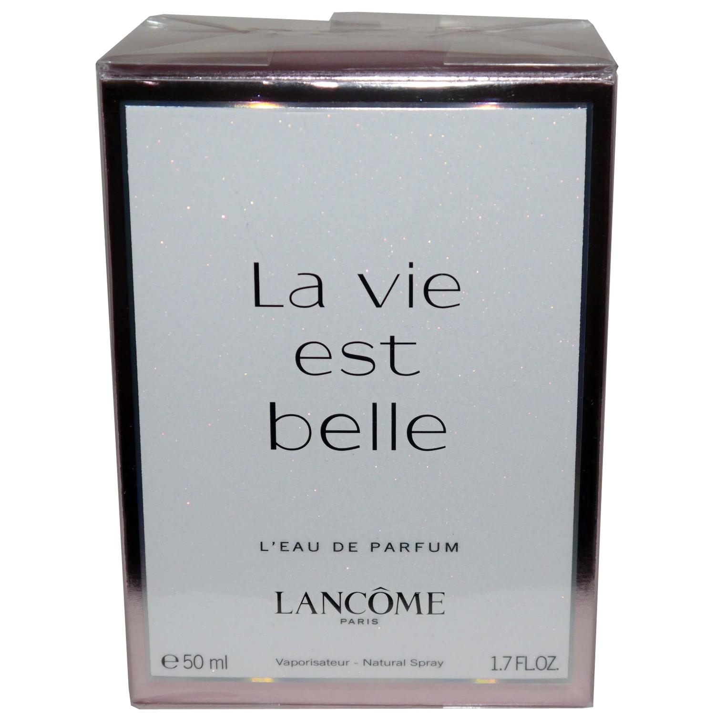 Lancome Paris La vie est belle L'eau de Parfum Natural Spray 1.7 oz (50 ml)