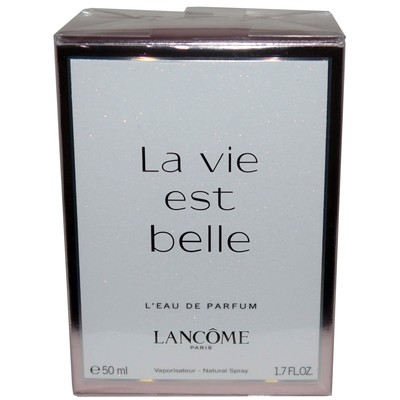 Lancome Paris La vie est belle L'eau de Parfum Natural Spray 1.7 oz (50 ml)