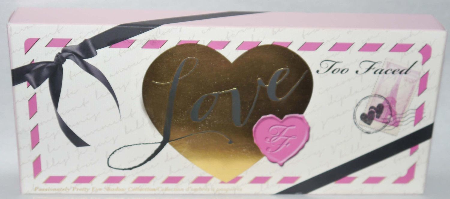 Too Faced Love Passionately Pretty Eye Shadow Palette Collection