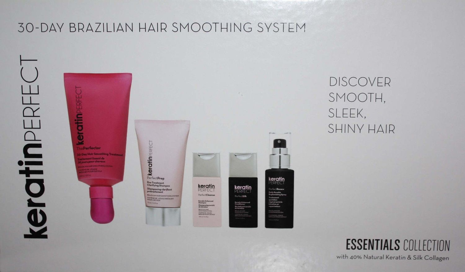KeratinPerfect 30-Day Brazilian Hair Smoothing System