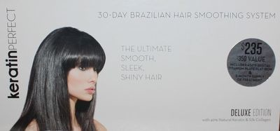KeratinPerfect 30-Day Brazilian Hair Smoothing System Deluxe Edition