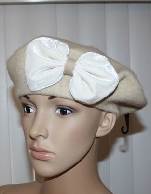 Chinese Laundry Women's Embellished Beret Cap Hat