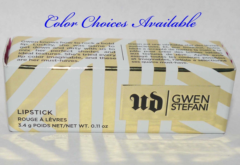 Urban Decay UD Gwen Stefani Lipstick 0.11 oz (Several Shades)