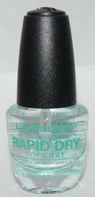 LA Colors Rapid Dry Top Coat 0.44 oz