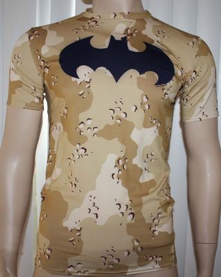 Under Armour ALTER EGO Men's Camo/Navy UA Batman Compression Shirt - X-Large