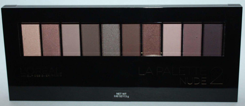 L'Oreal Paris La Palette Nude 2 Eyeshadow Palette 0.62 oz