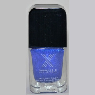 Kapow! Neon Nail Color -FORMULA X For Sephora Effects Nail Color Polish Lacquer .4 oz