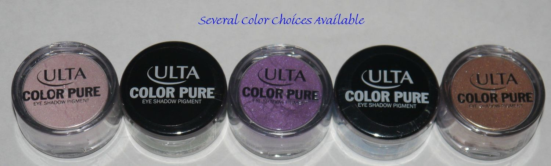Ulta COLOR PURE Loose Eye Shadow Pigment 0.05 oz (Several Shades)