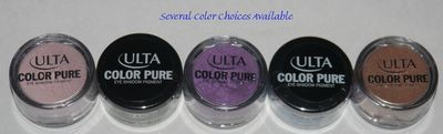 Ulta COLOR PURE Loose Eye Shadow Pigment 0.05 oz (Several Shades)