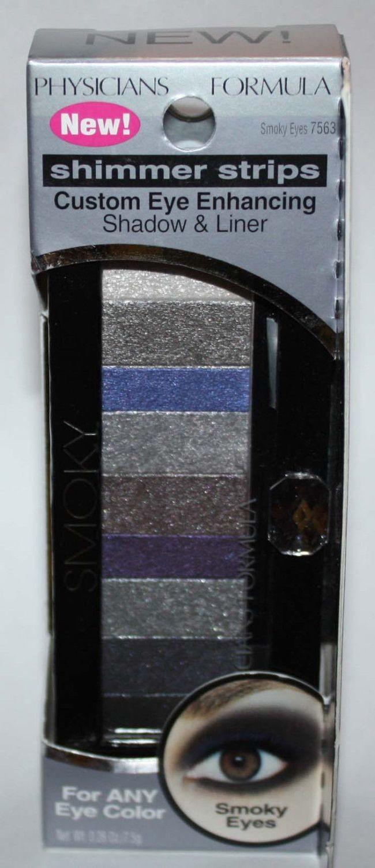 Physicians Formula Shimmer Strips Eye Shadow & Liner #6408 Smoky Eyes 0.26 oz