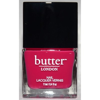 Sheer Jelly -Butter LONDON Nail Polish Lacquer .4 oz