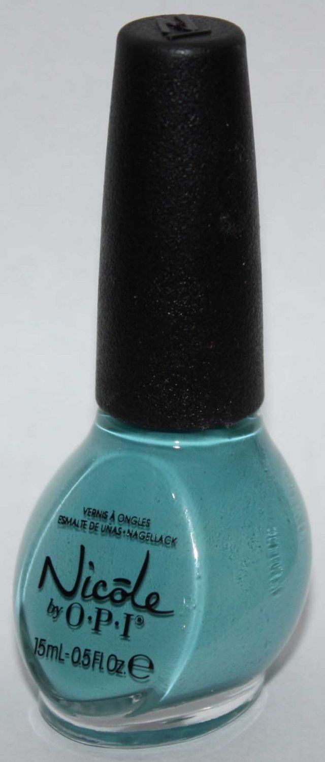 Poised For Turquoise Carrie Underwood Color Nicole By Opi Nail Polish 5 Oz