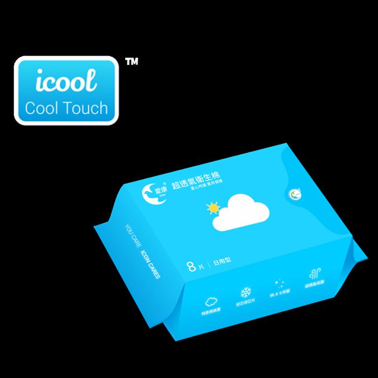 iCool Day Use (爱康超透气卫生棉-日用型)