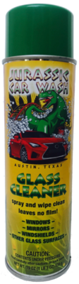 Jurassic Car Wash Glass Cleaner