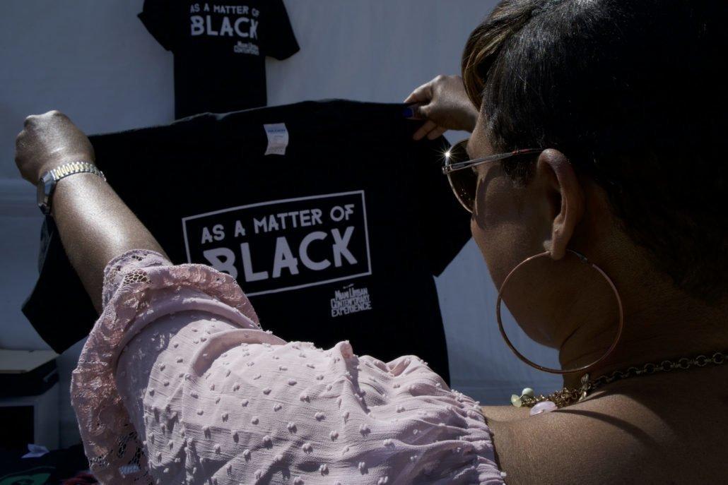 T-Shirt | As A Matter Of Black