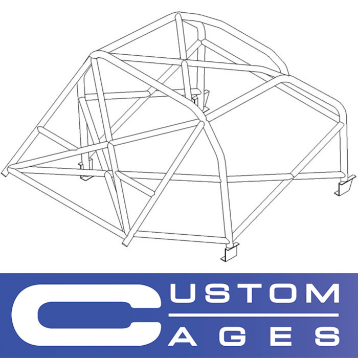 Custom Cages - FIA Ford Mustang Notchback Historic T45 roll cage