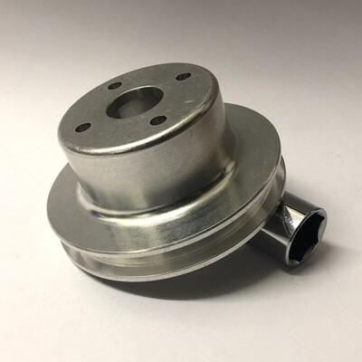 WOSP High-sided Aluminium Water Pump Pulley - BMC A-series / Classic Mini / MG Midget