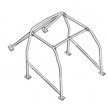 Custom Lenham GT Roll Cage 00034